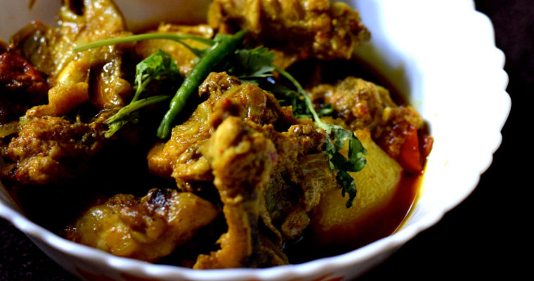 Chicken Curry With Potato