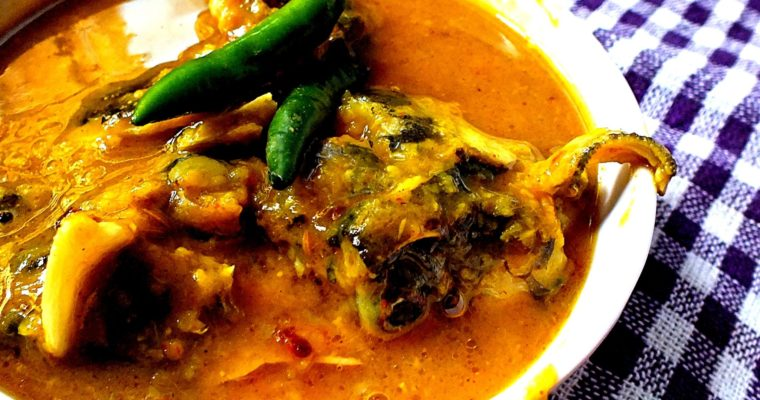 Green Gram Lentiles Cooked with Fish head